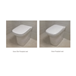 Imex Grace Rimless Comfort Height Toilet & Luxury Seat - 650mm Projection - Puraplast Seat